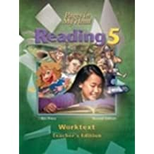 Pages in My Head - Reading 5 for Christian Schools (Worktext - Teacher's Edition) by Bob Jones University (1986-01-01)