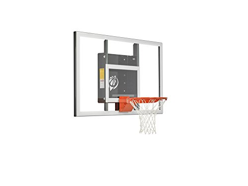 Baseline Tempered Glass Backboard with HD Breakaway Rim – DiZiSports Store