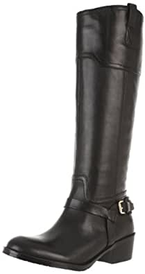 Ivanka Trump Women's Abbott Riding Boot,Black Leather,5 M US