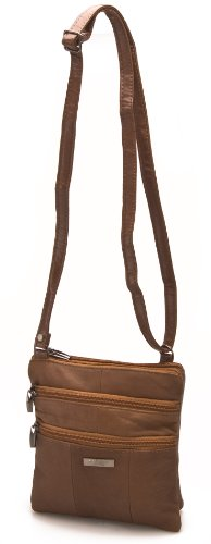 Lorenz Bag Leather Soft Brown 1941 Small 1 Genuine Body Cross Ladies Shoulder TwqTgra17