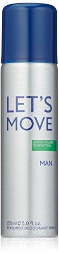 - United Colors of Benetton Lets Move Deodorant Spray - 150 ML
