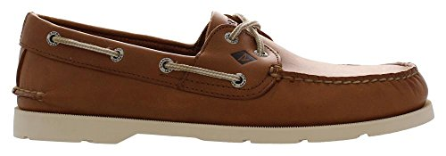 Sperry Top-Sider Men's Leeward 2-Eye Boat Shoe Brown Buck