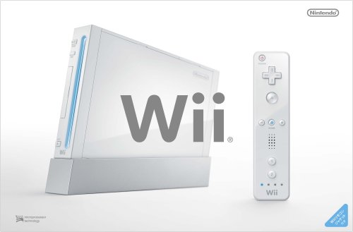 Wii Console with Wii Remote Jacket - White [Japan Import] by Wii