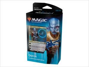 Magic The Gathering: MTG: Ravnica Allegiance Planeswalker Deck - Dovin (Blue/White) w/Two Booster - Ravnica Mtg Magic