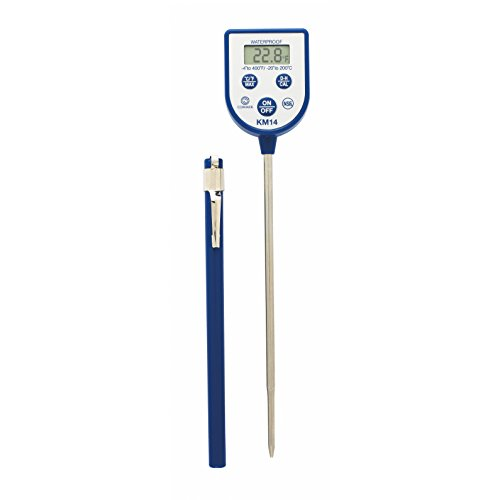 Comark Instruments | KM14 | Pocket Digital Dishwasher Thermometer with Max Hold (Thermometers Steel Pocket Stainless)