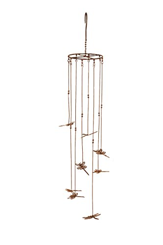 Ancient Graffiti Hanging Flamed Dragonflies Mobile Hanging, 5 by 31-Inch