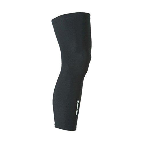 Roubaix Leg Warmers - Giordana Sport Super Roubaix Knee Warmers Black, L/XL