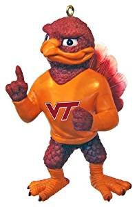 NCAA Virginia Tech Hokies Resin Mascot Ornament