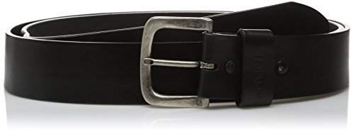 Carhartt Men's Regular Signature Casual Belt, Journeyman Black, 44 (Earth Little Belt)
