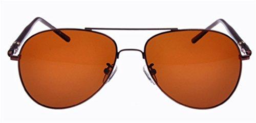 Gafas para Sol D de MOQJ Hombres Sol Exteriores Gafas Sol para para de Gafas A Gafas Vintage polarizadas fB76wU1BqO
