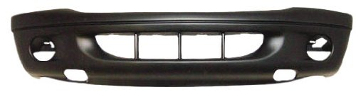 OE Replacement Dodge Durango Front Bumper Cover (Partslink Number CH1000349)