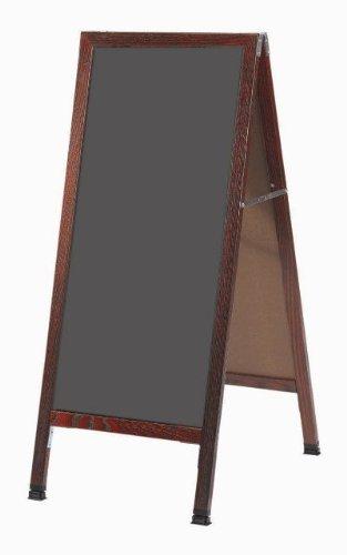 A-frame - hormigón de pie pizarra tamaño: 3 6