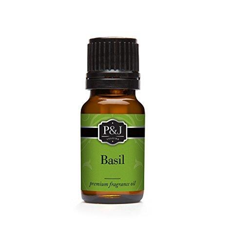 Basil Fragrance Oil - Premium Grade Scented Oil - 10ml by P&J Trading