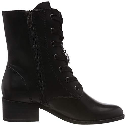 black Noir Bottes Rangers 25151 3 Tamaris Femme Leather 31 nwYq1YEx4
