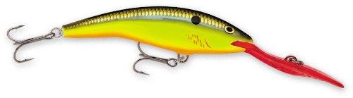 Rapala Deep Tail Dancer 07 Fishing lure, 2.75-Inch, Bleeding Hot - Tail Olive