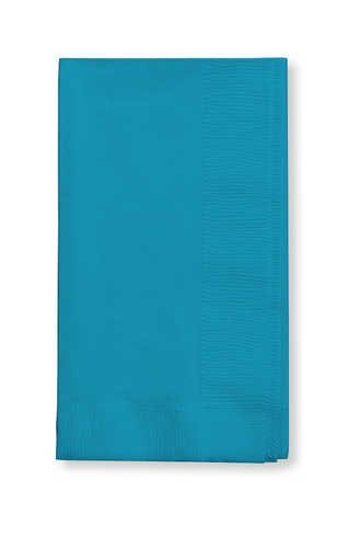 (Turquoise Paper Dinner Napkins 50 per Pack by Creative Converting)