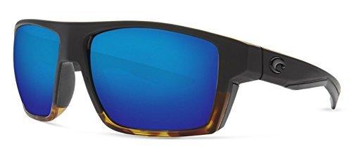 shiny Costa Mens Black Mirror Blue Tortoise Bloke 580plastic CCatq