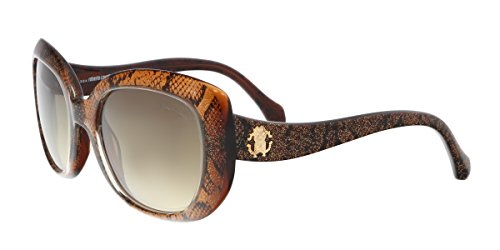 Sunglasses Roberto Cavalli RC 828S RC828S 50F dark brown/other / gradient - Logo Cavalli Roberto Sunglasses