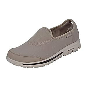 313qM cJ4oL. SS300  - Skechers Women's Go Walk Impress Memory Foam Slip-On Walking Shoe (7 M US, Stone)