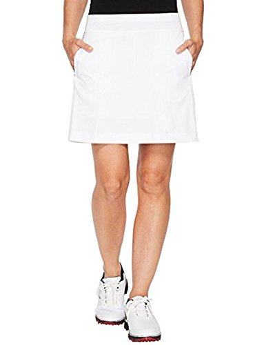 Callaway Women's Opti-Dri Knit Skort Bright White (Bright White, Small)