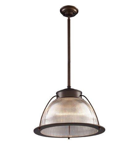 Pendants 1 Light with Aged Bronze Finish Medium Base 16 inch 150 Watts - World of Lamp