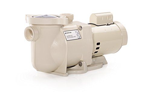 Pentair 340039 SuperFlo High Performance Single Speed Pool Pump, 1½ Horsepower, 115/230 Volt, 1 -