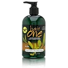 Hair One Cleansing Conditioner W/Jojoba for color treated hair 12 oz (3 pack Deal!!!)