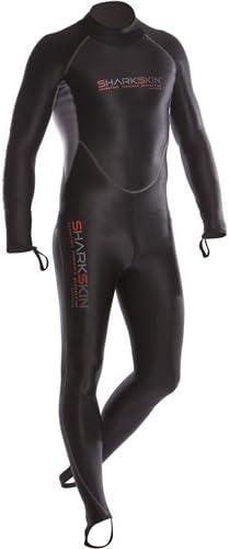 Sharkskin Chillproof Mens 1-Peice Rear Zip Wetsuit 2X-Small
