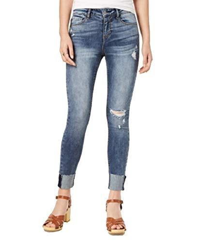 American Rag Juniors' Ripped Cuffed Skinny Jeans (Tucker, 1) ()