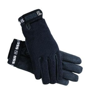 SSG All Weather Winter Lined Riding Gloves Ladies Universal Black