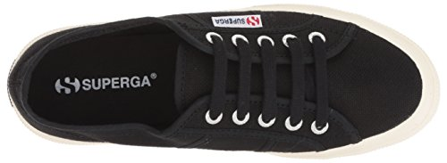Black Women's Superga Down Up 2095 Fashion Cotw And Sneaker Linea 76Pgzq6xn