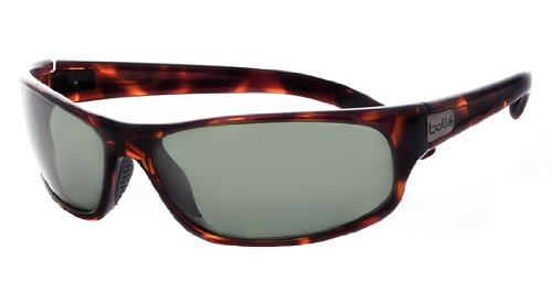 Bolle Anaconda Sunglasses, Dark Tortoise, Polarized Axis oleo - Bolle Polarized Men's Sunglasses