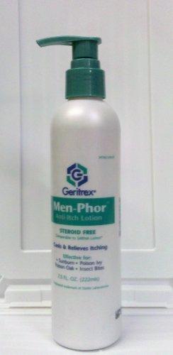 Men-Phor Steroid Free Anti Itch Lotion, 7.5 oz Pump Bottle by Men-Phor