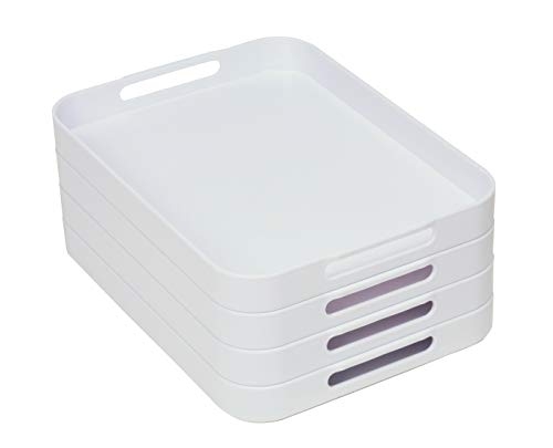montessori stackable trays - 1