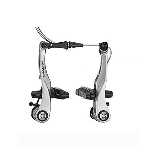 Tektro RX6, Mini V-Brake, compatible with standard road levers, for one wheel, Silver - RX6 silver (Best Mini V Brakes)