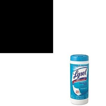 kitrac02775ctrac81146 - Value Kit - Lysol Brand desinfección toallitas húmedas (rac81146) y profesional LYSOL Brand desinfectante limpiador de espuma ...