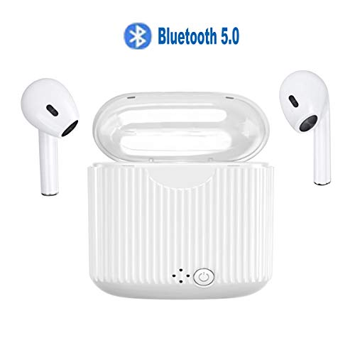 TWS Wireless Bluetooth Earbuds Bluetooth5.0 Wireless Headphones for Sports with Charging Case