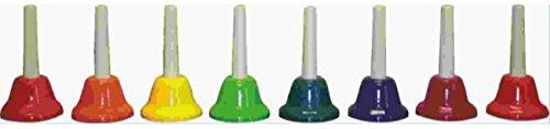 Rhythm Band Instruments CNHB-D Chroma-Notes Handbells 8 Note Diatonic by Rhythm Band