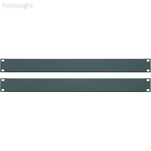 1u Blank Panel Set - Essex Blank Panels (1U, Flat Black, 2-Pack) - Polebright update