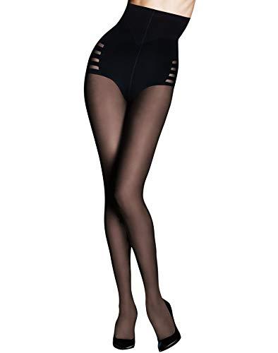 Maidenform Women's Hosiery Sexy Shaping Body Shaper, Black, Large