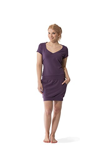 Damen Violett Dress Lady Purple Jumpster Kleid 4HXt76W