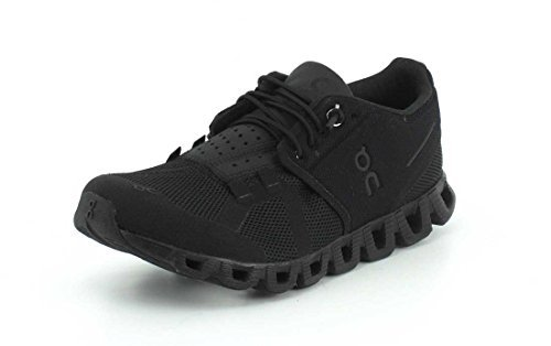 Picture of On Running Womens Cloud All Black Running Shoe - 6