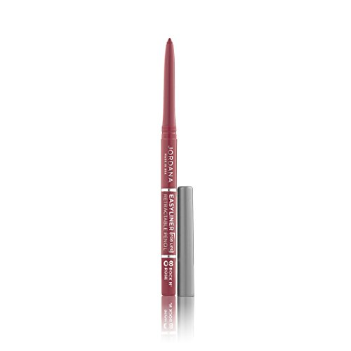 (6 Pack) JORDANA Easyliner For Lips – Rock N Rose