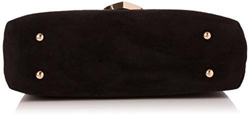 Dune - Emelio, Carteras de mano Mujer, Black, 8x18x24 cm (W x H L)