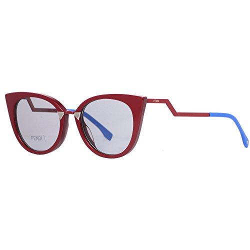 Fendi FF0118/S Women's Red/Burgundy Sunglasses