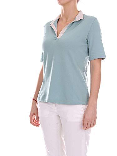 Donna La Fileria Cotone 6026882791883 Polo Azzurro SYE1wEOq