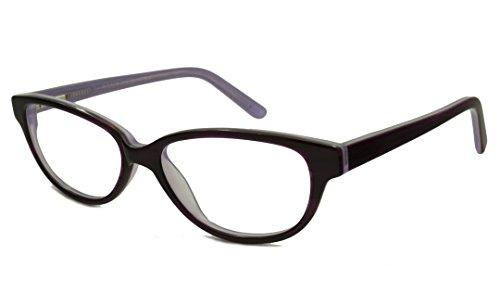 Glass Lavender Vintage (V Optique Reading Glasses - Brigitte Purple Lavender /-VN081468PRP125)