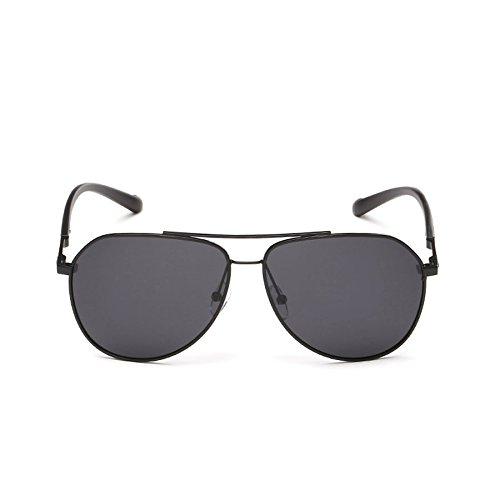 Lentes Gafas de Hombres Gafas para Sol Face para con Sol Brillantes polarizadas Round A Sol Hombre Retro Color de D de Gafas qwOnz8Aq