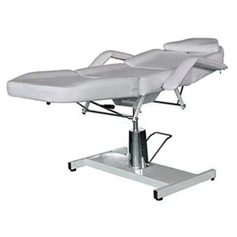 Beauty Style Spa Facial Massage Table Multi-function Beauty Bed Adjustable Massage Bed White