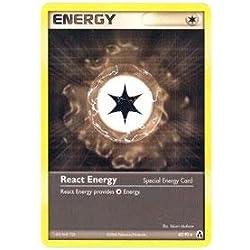 Pokemon - React Energy (82) - EX Legend Maker - Reverse Holofoil